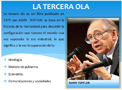 DE A. Toffler, Tercera ola